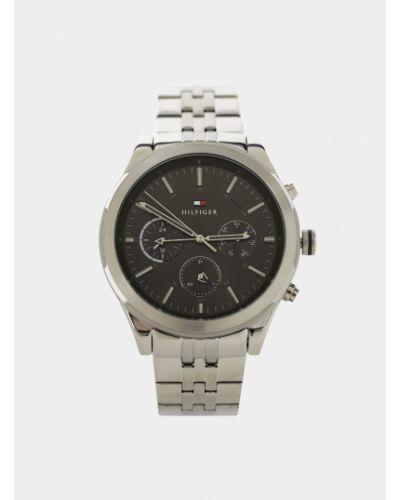 Zegarek kwarcowy srebrny kwarc Tommy Hilfiger