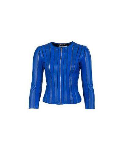 Куртка весенняя синий Versace Collection