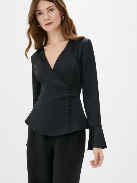 Черная блузка с длинным рукавом Jimmy Sanders