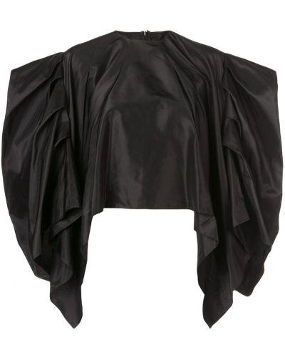 Блузка без рукавов на молнии черная Rubin Singer