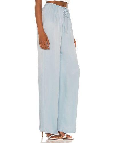 Niebieskie spodnie z wiskozy Camila Coelho