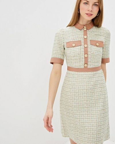 Платье зеленый Lusio