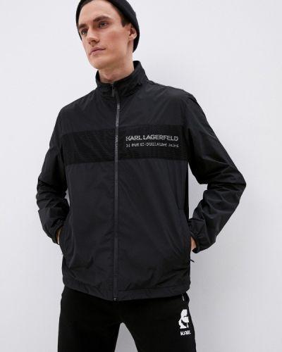 Черная ветровка Karl Lagerfeld