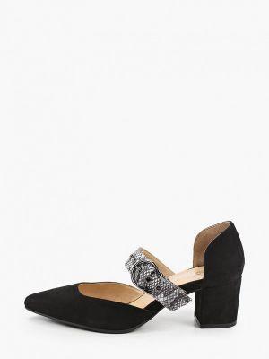 Черные турецкие туфли Hestrend