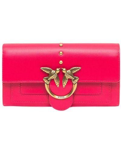 Czerwony portfel Pinko