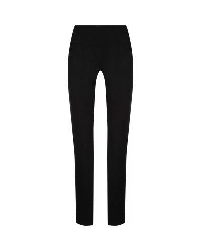 Хлопковые компрессионные черные зауженные брюки Gsd