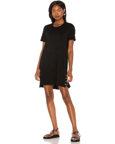 Платье рубашка - черное Michael Lauren