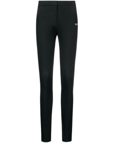 Czarne spodnie eleganckie materiałowe Off-white