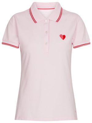 Повседневная розовая хлопковая рубашка Tory Sport