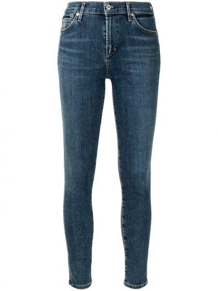 Джинсовые зауженные джинсы - синие Citizens Of Humanity