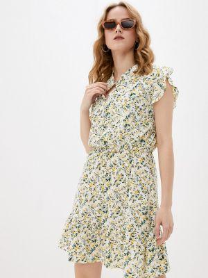 Бежевое платье Froggi