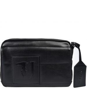 Кожаная сумка - черная Trussardi Jeans