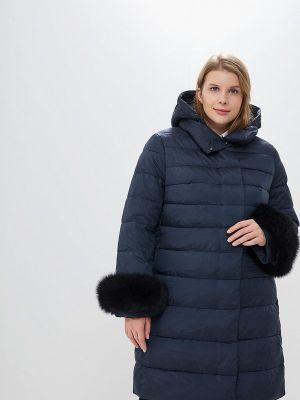 Зимнее пальто осеннее синее Winterra