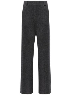 Шерстяные брюки - серые Not Shy