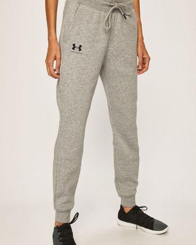 Спортивные брюки на резинке серые Under Armour