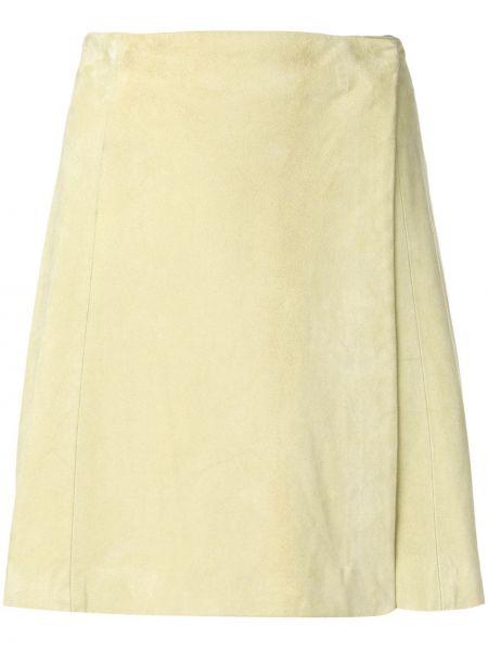 Плиссированная юбка мини винтажная Krizia Pre-owned