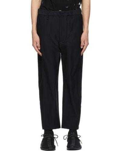Текстильные черные брюки сетчатые Neighborhood