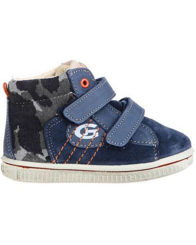 Ботинки замшевые текстильные Grunland