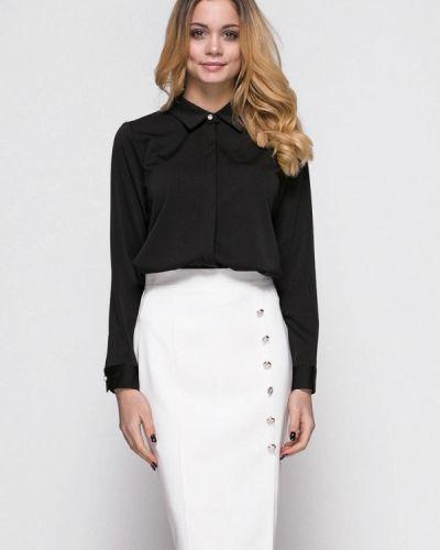 Белый вязаный юбочный костюм Zubrytskaya