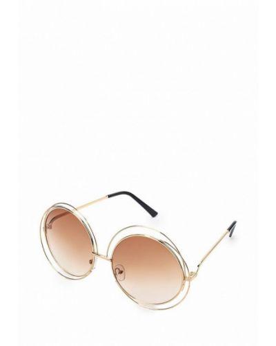 Солнцезащитные очки золотой Kawaii Factory