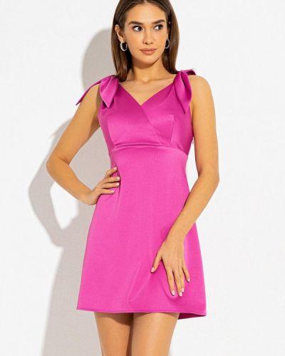 Розовое вечернее платье Itelle