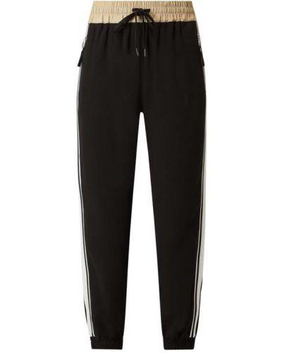 Spodnie w paski - czarne Blonde No. 8