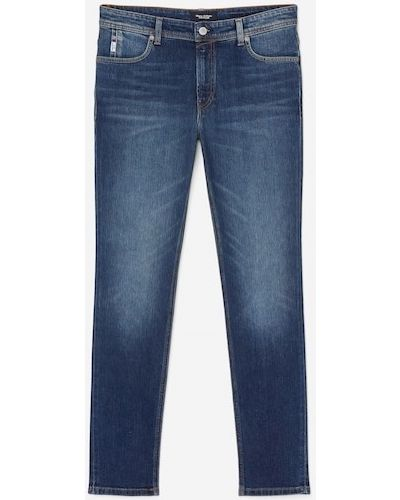 Niebieskie klasyczne jeansy Marc O Polo