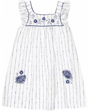 Lato sukienka styl morski biały Tartine Et Chocolat