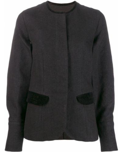 Куртка бархатная на пуговицах Uma Wang