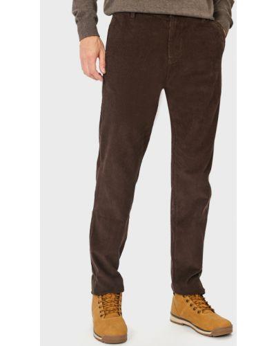 Коричневые зимние брюки Baon