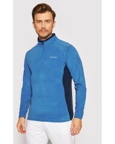 Niebieska bluza polarowa Columbia