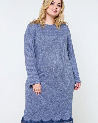 Платье миди - голубое Matilda