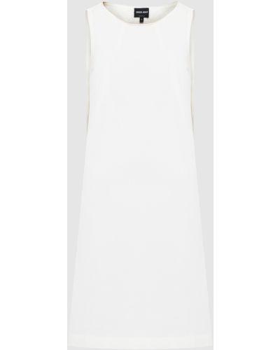 Белое платье миди Armani