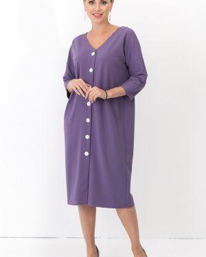 Платье с поясом на пуговицах оверсайз Taiga