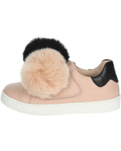 Różowe sneakersy Florens