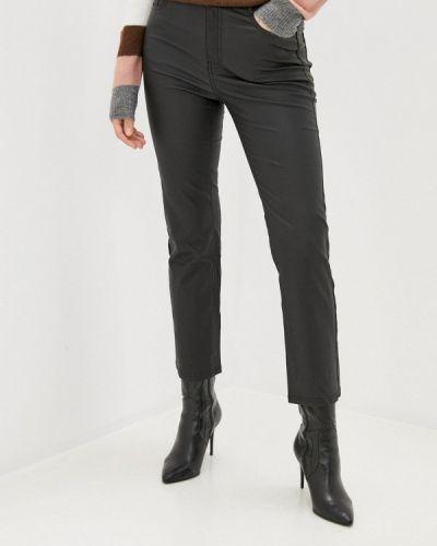 Черные кожаные брюки Calzedonia