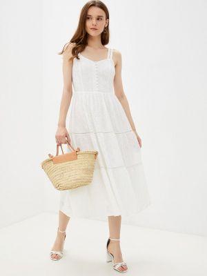 Белое весеннее платье Lusio