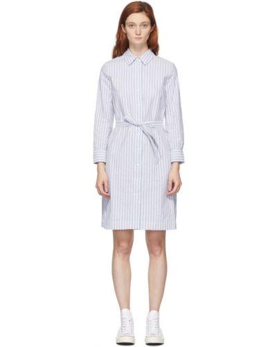Платье макси в полоску на пуговицах A.p.c.