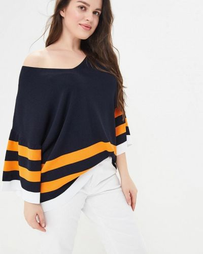 Пуловер черный Violeta By Mango
