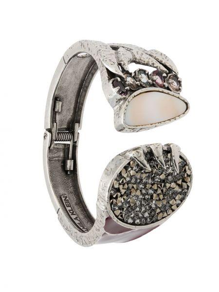 Серебряный браслет металлический Camila Klein