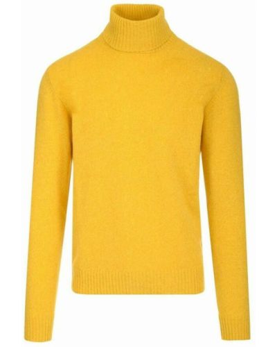 Sweter - żółty Roberto Collina