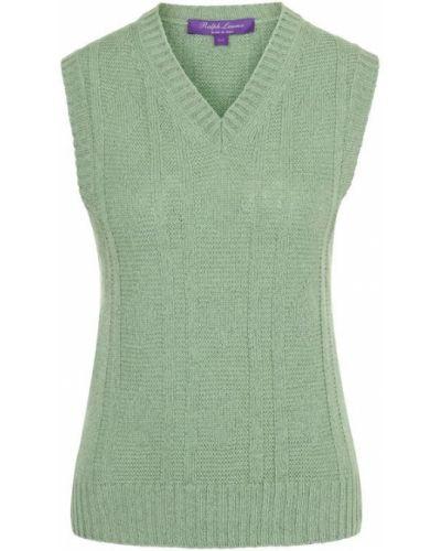 Жилетка с v-образным вырезом зеленый Ralph Lauren