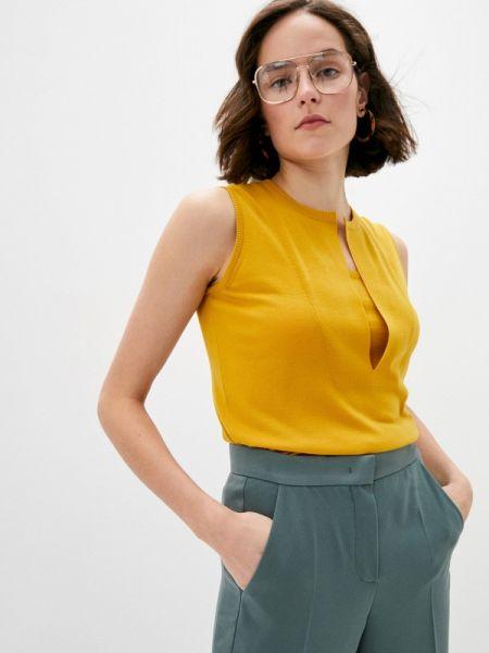 Желтый свитер Akris Punto