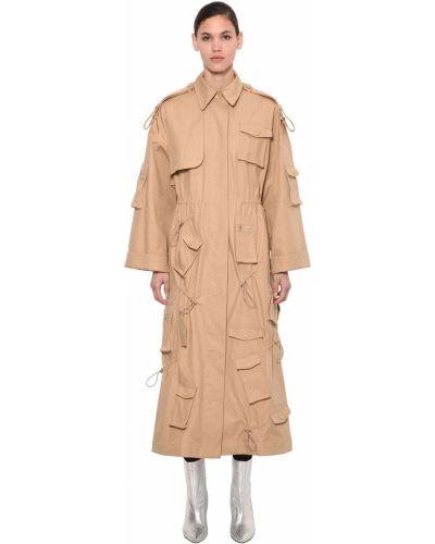 Beżowy płaszcz Annakiki