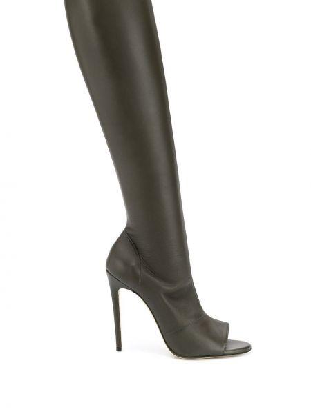 Wysoki buty na obcasie na pięcie Victoria Beckham