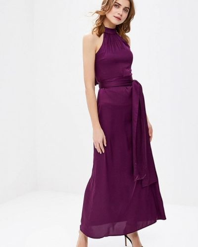 Вечернее платье осеннее фиолетовый Royal Elegance