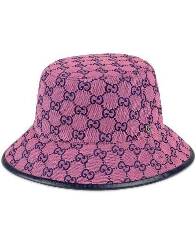 Кожаная сумка - розовая Gucci
