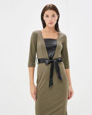 Платье - зеленое Avemod