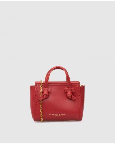 Кожаная сумка - красная Gianni Chiarini