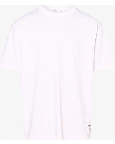 Biała t-shirt Lindbergh
